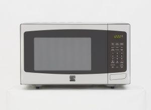A l'intérieur du four à micro-ondes